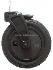 Колесо надувное 10 дюймов со сплошым диском с вилкой тип 3